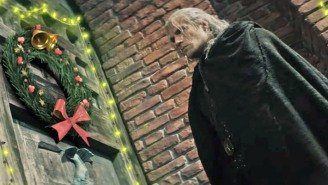 'The Witcher' Grumbles His Way Through A Sparkly, Holiday-Themed 'Slay Ride' Video From Netflix