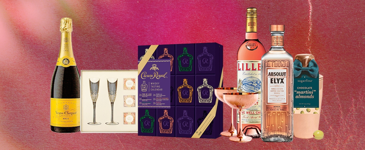 The Best Alcohol-Related Gift Sets To Give As A Gift This Year