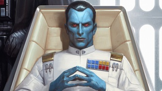 'Star Wars' Fans Are Losing It Over The Grand Admiral Thrawn Moment In 'The Mandalorian'