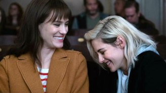 The Trailer For Hulu's 'Happiest Season' With Kristen Stewart And Mackenize Davis Is A Festive Delight