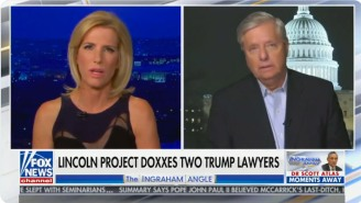 Laura Ingraham Straight-Up Told Lindsey Graham He's Acting Like A 'Used Car Salesman' On Fox News