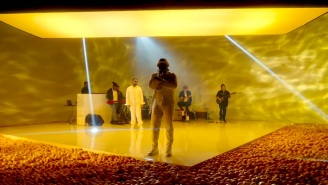 Internet Money, Gunna, Don Toliver, And Nav Deliver A Very Yellow 'Lemonade' Performance On 'Fallon'