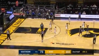 A Half Court Heave At The End Of Iowa-Southern Led To A Devastating Bad Beat