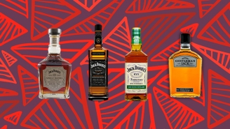 Every Bottle Of The Core Jack Daniel's Whiskey Line, Ranked
