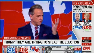 Jake Tapper And Others Rebuked Donald Trump For His Absurd Claim That The Election Was Being 'Stolen' From Him In A Misspelled Tweet
