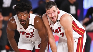 Goran Dragic Re-Signed With The Heat Because He Didn't Want Jimmy Butler 'Chasing My Ass'
