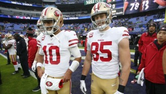 Jimmy Garoppolo And George Kittle Will Both Miss Extended Time With Injuries