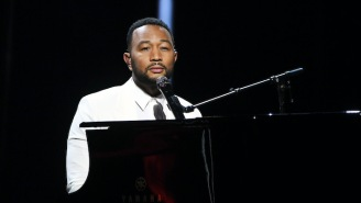 John Legend Calls Out Rappers Who Support Trump During His Joe Biden Rally Performance