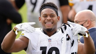 JuJu Smith-Schuster Joked Ravens-Steelers Should Be Decided On The 'Madden' Gridiron