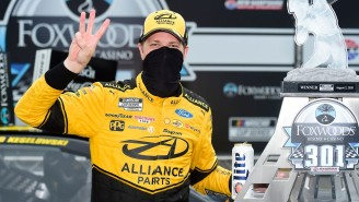 Brad Keselowski Talks Racing For The NASCAR Championship And The Nuances Of 'Driving In Circles'