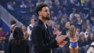 Report: Klay Thompson Suffered A Lower Leg Injury And Is Being Evaluated