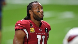 Larry Fitzgerald Talks Cardinals And Giving Back To Military Families Even In A Season With Limited Fans