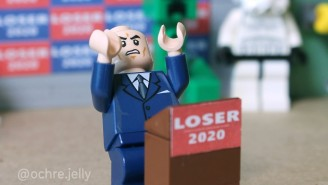 The LEGO Version Of Rudy Giuliani's Four Seasons Total Landscaping Trump Press Conference Is Spectacular