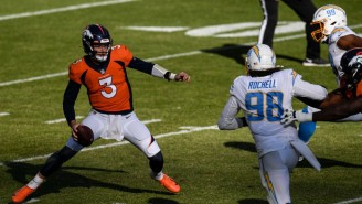 The Chargers Lost On A Broncos Last Play Touchdown From Drew Lock To K.J. Hamler