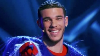 Lonzo Ball Was Revealed As The Masked Singer As His Brother Went Third To The Hornets On Draft Night