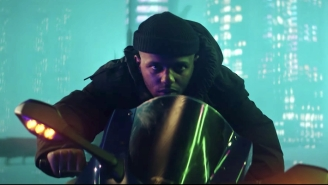 MadeInTYO Is A Cyberpunk Hero In His Anime-Inspired 'To The Moon/Throw It Back' Video