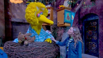 Maggie Rogers Visits 'Sesame Street' To Sing A Song About Creatures Of The Night