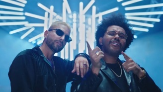 The Weeknd Sings In Spanish On Maluma's New 'Hawái' Remix