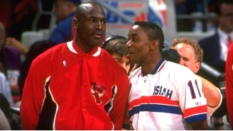 Isiah Thomas 'Didn't Realize' How Michael Jordan Felt About Him Until He Watched 'The Last Dance'
