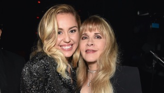 Miley Cyrus And Stevie Nicks Mash Up 'Midnight Sky' With A Nicks Classic On Their New Remix