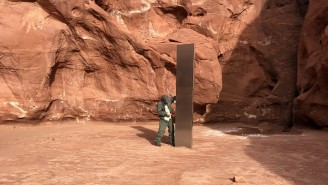 A Mysterious Monolith Disappeared From The Utah Desert And No One Knows Who Took It