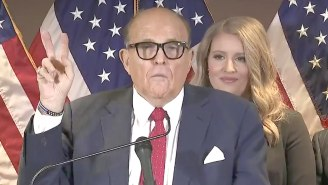 Rudy Giuliani Has Been Sued By Dominion For $1.3 Billion Over His 'Big Lie' About Election Fraud