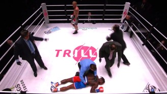 Jake Paul Knocked Nate Robinson Out Cold In The Second Round Of Their Fight
