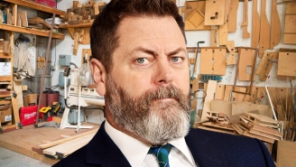 Nick Offerman's Woodshop Is Crafting Sustainable Solutions To Homelessness In LA
