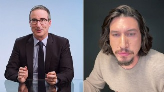 John Oliver Has Explained The Origin Of His 'Weird' Obsession With Adam Driver