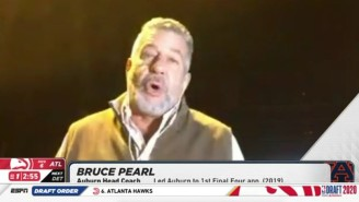 Bruce Pearl Did An Interview On ESPN's NBA Draft Show From A Grocery Store Parking Lot