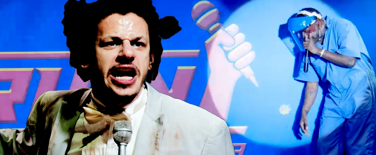 Inside The Wild World Of 'The Eric Andre Show' And Rapper Warrior Ninja