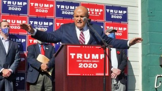 Even Four Seasons Total Landscaping Dunked On Rudy Giuliani For Losing His Law License
