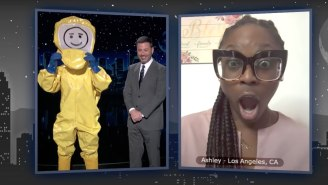 Jimmy Kimmel Kept 2020's 'Sexiest Man Alive' Hidden In A Hazmat Suit Until The Reveal