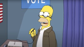 'The Simpsons' Imagines A World Where Trump Is Elected President Again