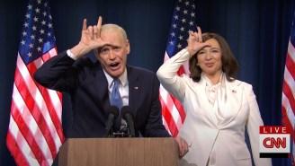 Jim Carrey's Joe Biden Finally Got To Call Donald Trump A Loser On The 'SNL' Cold Open