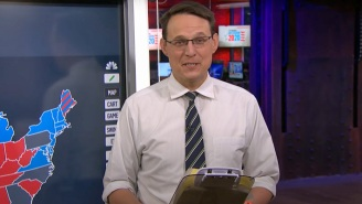 Steve Kornacki Got Real About Inadvertently Drawing A Penis-Map On Live TV