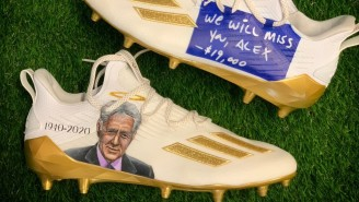 Adam Thielen Wore Cleats Paying Tribute To Alex Trebek Before Monday Night Football