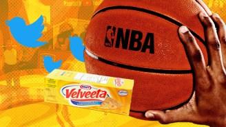 Velveeta Wants To Be The Orange Goo Holding NBA Twitter Together