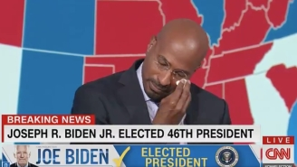 Van Jones Had A Beautiful And Emotional Response To Joe Biden Winning The Presidency