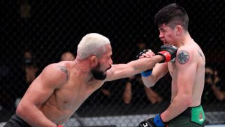 Deiveson Figueiredo And Brandon Moreno Put On A Fight Of The Year Contender At UFC 256