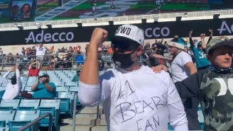 Jaguars Fans Cheered Wildly For A Bears TD As They Want The First Overall Draft Pick