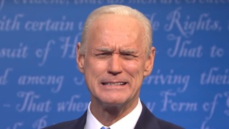 Jim Carrey Is Gong To Concede His Joe Biden 'SNL' Impersonation To Someone Else