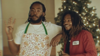 LVRN Gets In The Christmas Spirit With Shelley And Young Rog's Jazzy 'Feliz Navidad' Video