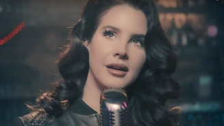 Lana Del Rey Gives A Tender Cabaret Performance Of 'Let Me Love You Like A Woman' On 'Fallon'