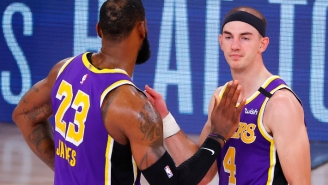 Alex Caruso Tells Us Why He Went Three Weeks Without Touching A Basketball After The Lakers Won A Ring