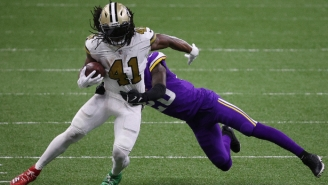 Fantasy Football Players Lost Their Minds Over Alvin Kamara's Insane Six Touchdown Performance