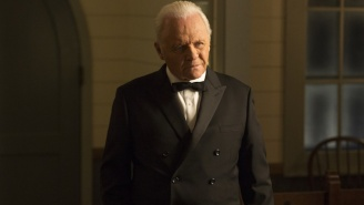 Anthony Hopkins' Team 'Pleaded' With The Oscars To Let Him Do His Acceptance Speech Over Zoom, But They Were Turned Down