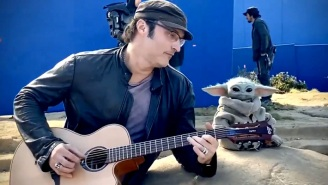 Robert Rodriguez Jams With Baby Yoda In A Special Holiday Video For 'The Mandalorian' Fans