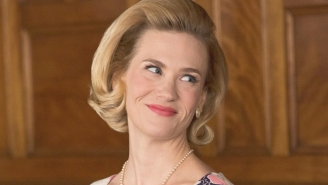 January Jones Perfectly Trolled The 'National Enquirer' Over Her 'Attention-Grabbing' Bikini Photos