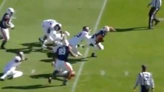 Auburn QB Bo Nix Evaded A Sack Three Times En Route To A Crazy Touchdown Run